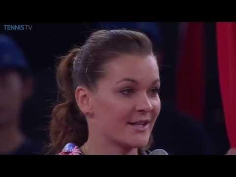 Agnieszka Radwanska 2016 China Open Final Speech