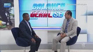 Secretário da Seplag fala sobre lançamento do edital para concurso público - BALANÇO GERAL