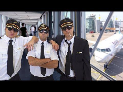 Fake Pilot At The Airport Prank!