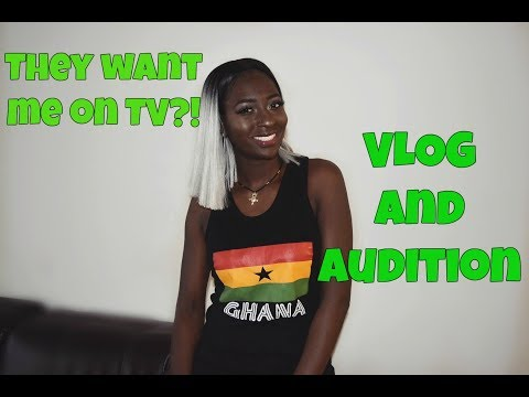 Ghana Vlog : Mena Mode SELECTED FOR A REALITY SHOW IN GHANA travel vlog