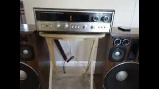 Olson RA-220  Stereo phase Power Test