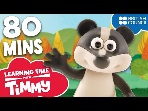 Learn English for Children | Full Episodes Bonus Compilation | Learning Time with Timmy letöltés