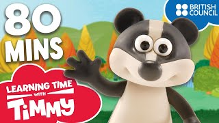 Learn English for Children | Full Episodes Bonus Compilation | Learning Time with Timmy