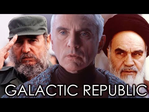 Where is the Galactic Republic on the Political Compass?
