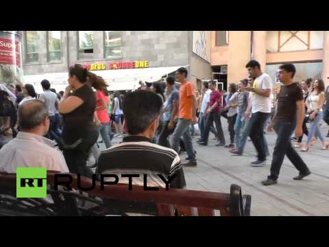Armenia: Electric Yerevan Protesters March And Block Streets