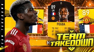 89 LM UEL MOTM Paul Pogba Team Takedown!!!