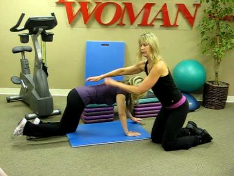 How to do the Quadruped exercise with Total Woman