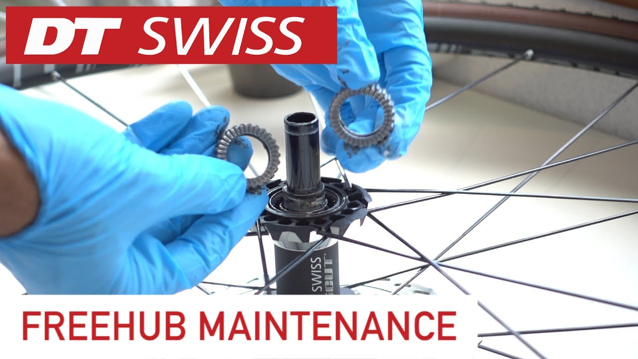 e912230ec1b DT Swiss hub maintenance How-To Tutorial. Clean and grease! - YouTube