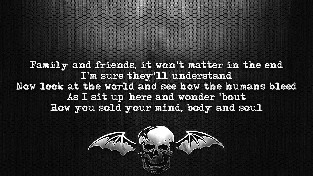 Avenged Sevenfold – Blinded in Chains Lyrics   Genius Lyrics