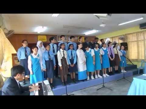 Persembahan choir sempena Hari Guru 2014
