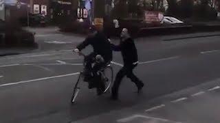 Lidl-Mitarbeiter verprügelt Ladendieb mit Schweinefuß!
