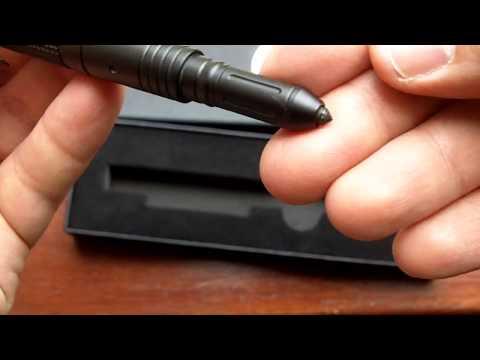 Emergency Pen: Colt Defender Tactical Pen W/LED Light