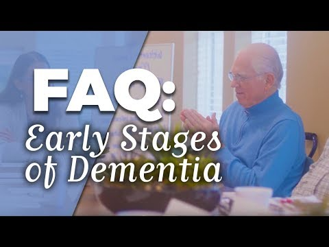 FAQ: Early Stages of Dementia
