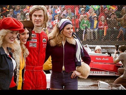 Rush Starring Chris Hemsworth & Olivia Wilde Movie