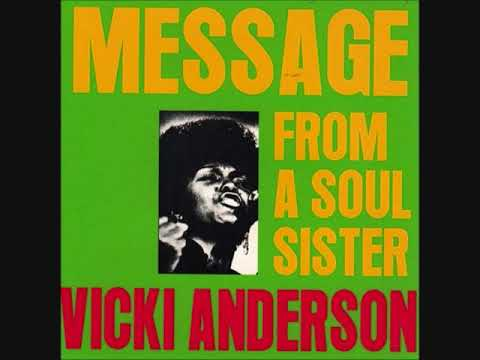 Vicky Anderson - Message From A Soul Sister (Full Album)