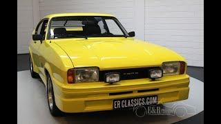 Ford Capri Mk2 2000 S V6 1977 -VIDEO- www.ERclassics.com