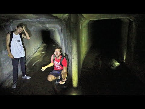 going left on the creepy tunnel... *shocked we found this*