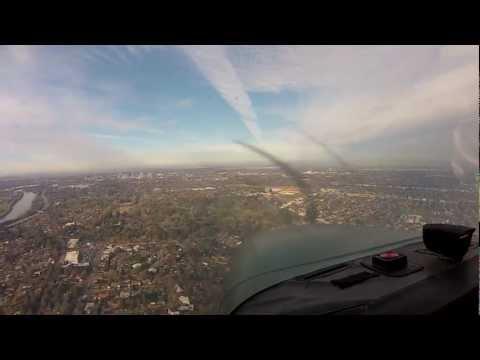 GoPro flight Petaluma to Sacramento Exec Part 2