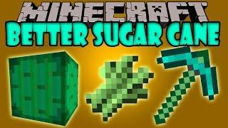 BETTER SUGAR CANE MOD - Mas Utilidad para la Caña de Azucar! - Minecraft mod 1.7.10 Review ESPAÑOL