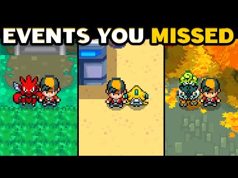 MYSTERY GIFT & EVENT Pokemon You Missed In HeartGold And SoulSilver