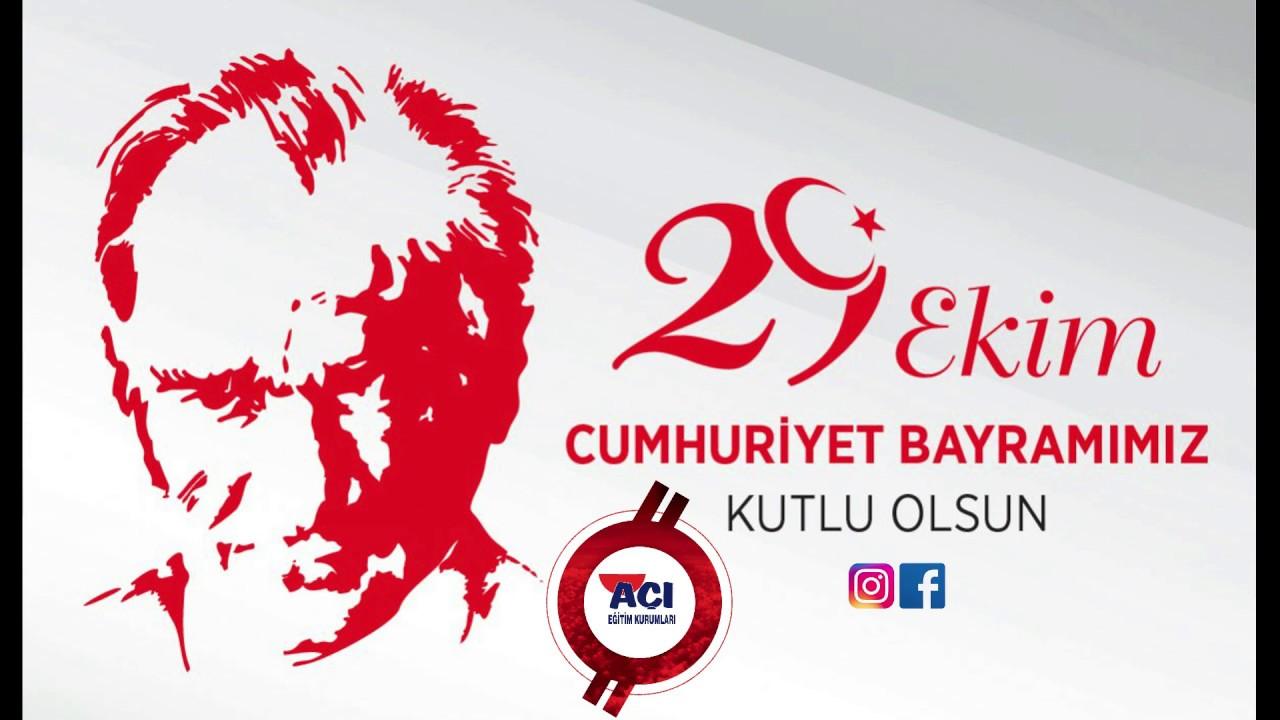 AMASYA Açı Eğitim Kurumları Olarak 29 Ekim Cumhuriyet Bayramını Coşkuyla Kutladık.