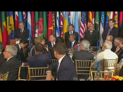 Obama and Putin rumble with Ban Ki-Moon in the middle!