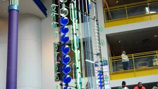 Water Clock At The Children's Museum
