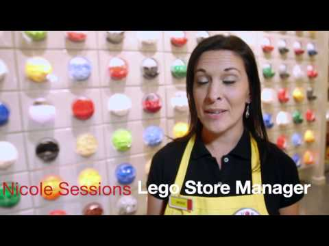 Lego store in Fashion Place Mall