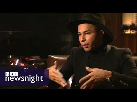 Olivier Rousteing: 'Fashion Helped Me Define Who I Am' - Newsnight