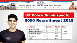 UP Police 5000 Sub-Inspector Recruitment 2019 | Selection Process | Exam Pattern Pattern
