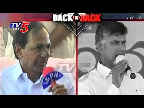 KCR And Chandrababu Back To Back Over Water Disputes Settlement | TV5 News