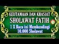 Gambar cover Keutamaan Sholawat Fatih Dan Khasiatnya