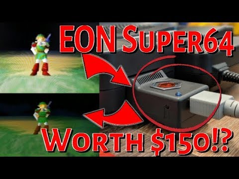 Is The EON Super64 Nintendo 64 (N64) HDMI Adapter Worth 150 Dollars!?