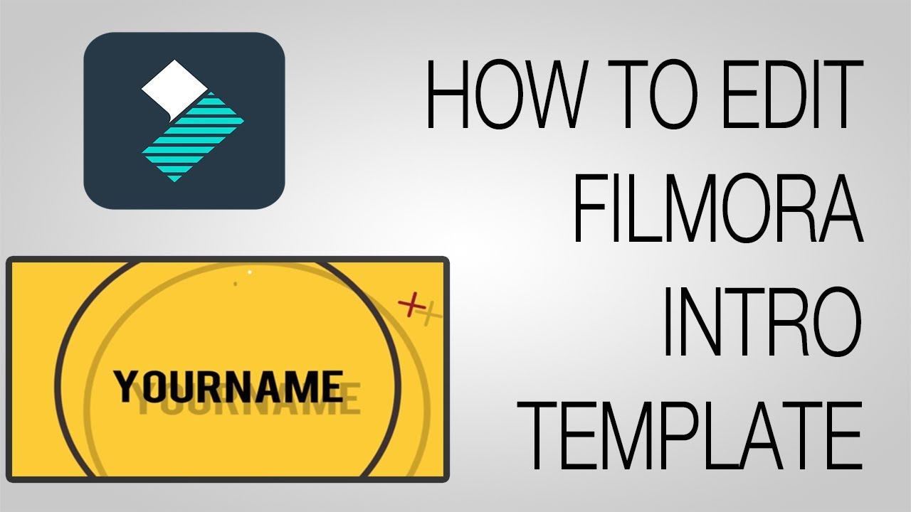 3D Intro Template Wondershare Filmora | Free Download