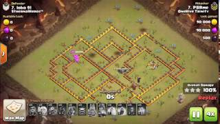 Use This Strategy For War|TH10 Attack Strategy| Class of clans| New Update|