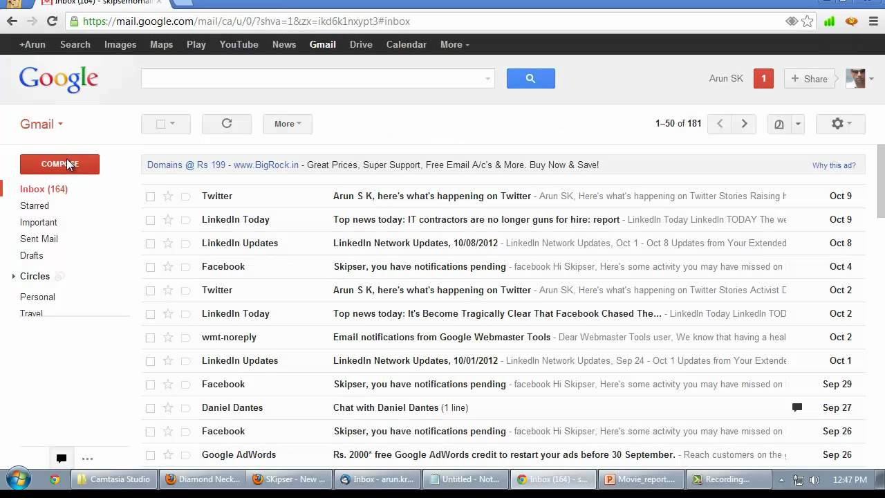 Write Gmail Email In Any Non-English Language - YouTube