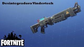 Your name says it all / Vindertech disintegrator Fortnite: Saving the world #184