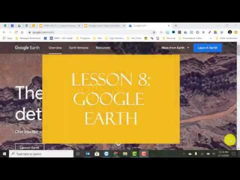 Download GCE LV2 Lesson 8 Google Earth