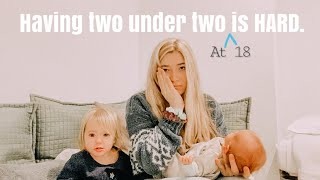 I almost LOST MY MIND // teen mom vlogs