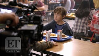 On The Set Of 'Good Boys' With Jacob Tremblay