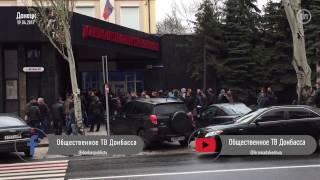 """""""ДНР"""" сорвала митинг шахтеров в Донецке """"народными гуляниями"""""""