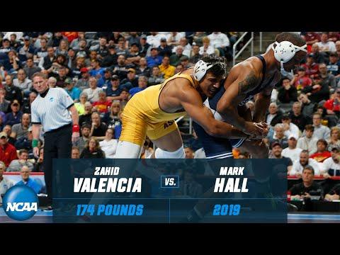 Zahid Valencia Vs. Mark Hall: FULL 2019 NCAA Championship Match At 174 Pounds