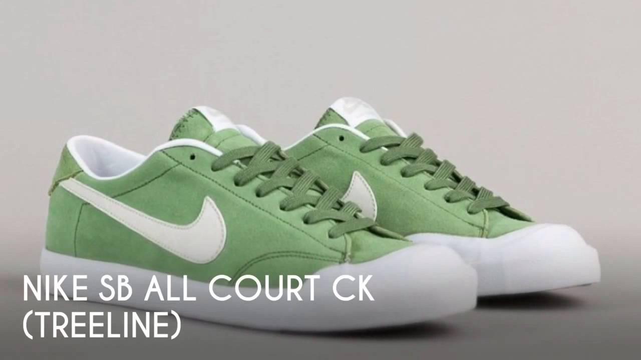 size 40 f7090 f74d9 NIKE SB ALL COURT CK (TREELINE)   PEACE X9