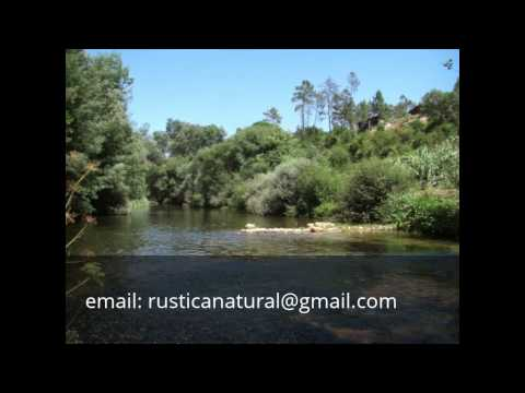 House with riverside land for sale in Portugal