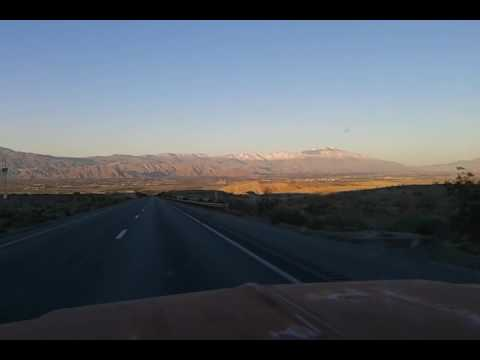 Hauling Job to Rancho Palos Verdes, California, Snow in Palm Springs