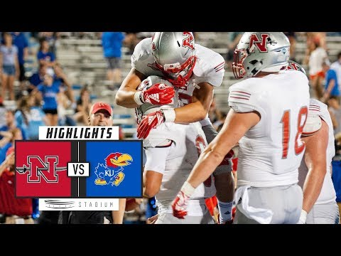 Nicholls State vs Kansas Football Highlights (2018) | Stadium