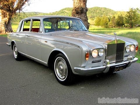 1967 Rolls-Royce Silver Shadow for Sale: Black Plate California Car
