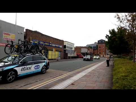 Tour of Britain Wrexham 2015