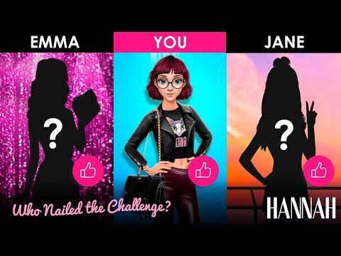 NEW! Hannah's Fashion Dress Up Competition 🤩 Can You Nail This Style Challenge?   Games For Girls