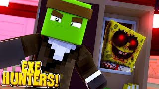 EXE HUNTERS #1 - SPONGEBOB.EXE IS BACK IN THE SCHOOL! w/TinyTurtle